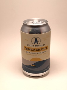 Athletic Brewing - Cerveza Atletica (12oz Can) - Non-Alcoholic